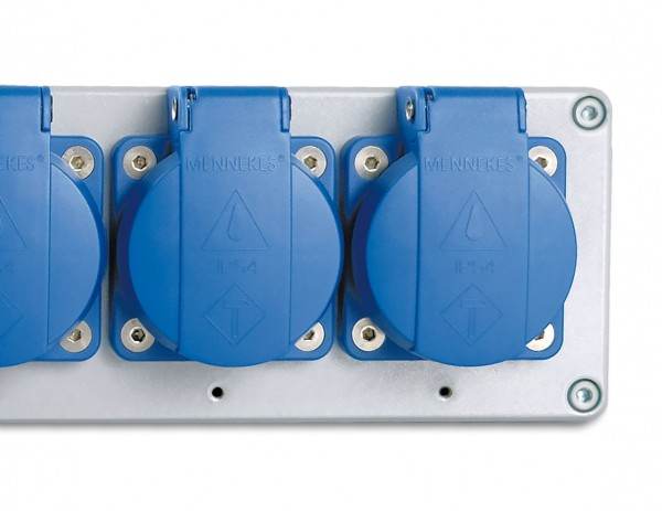 Industrie-Mehrfachsteckdose e-medic™ Powerstrip 500 EU