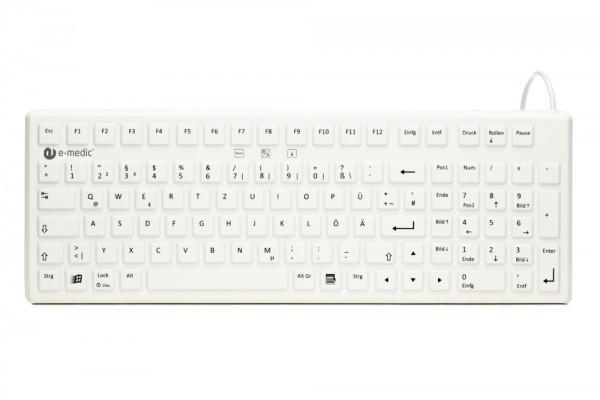 Tastatur wasserdicht e-medic ST